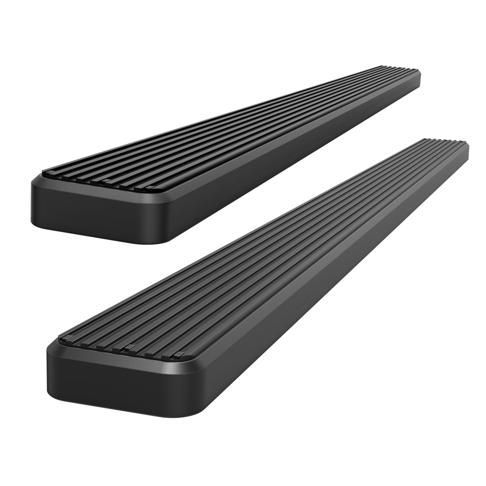 2017-2018 Ford F-250//F-350 Super Duty 4 Eboard Running Boards Nerf Bar | Side Steps for 2015-2018 Ford F150 SuperCrew Cab Pickup 4-Door