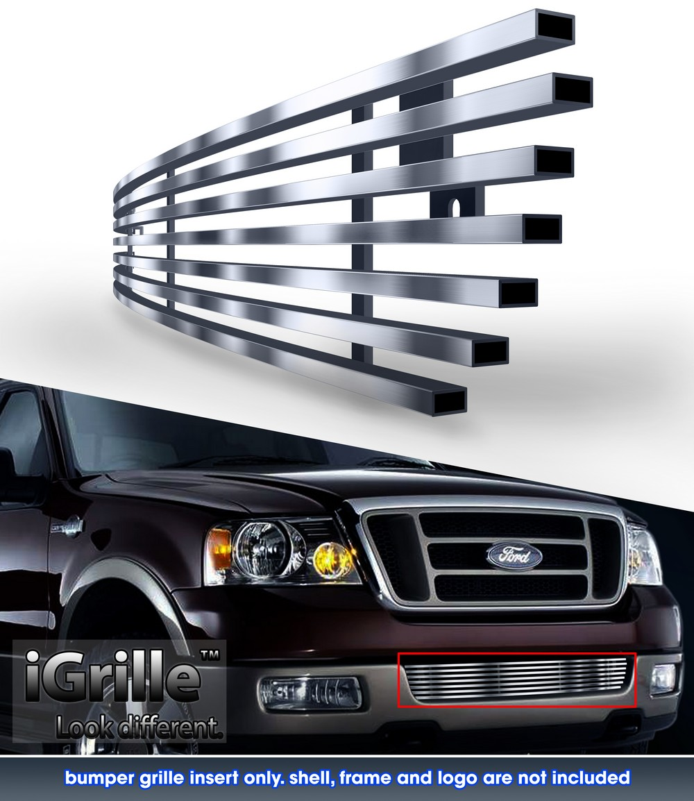Sold 2004 2005 2006 2007 2008 Acura Tl Front Bumper Meugen: EGrille Fits 2004-2005 Ford F-150 Lower Bumper Stainless
