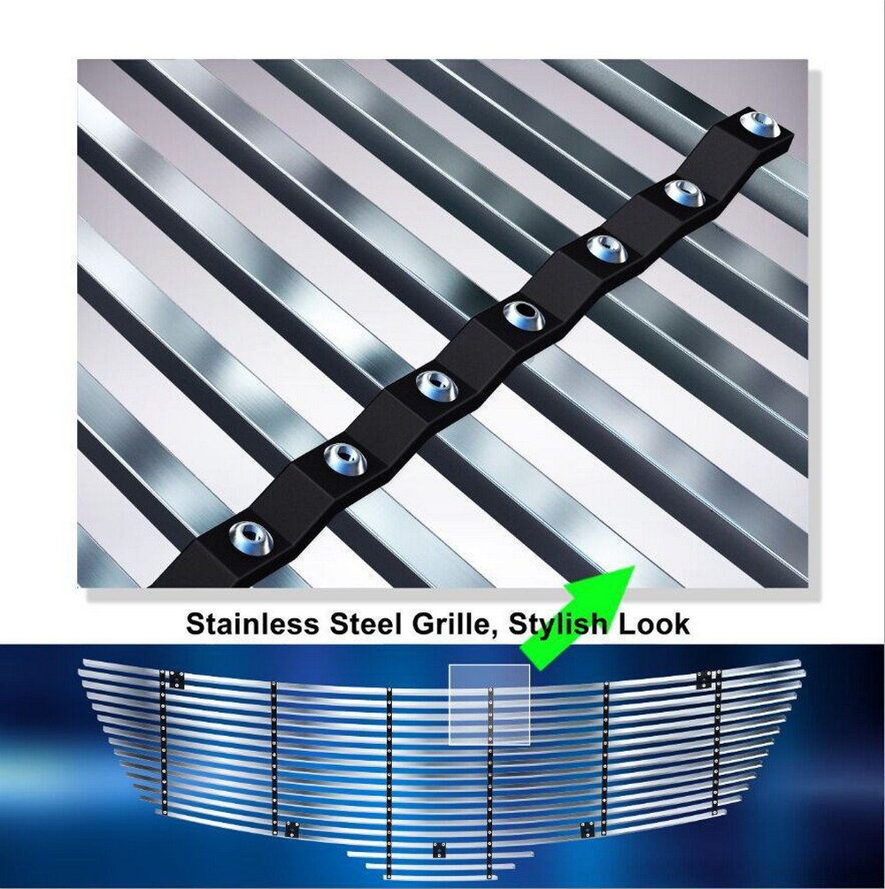 Fits 2004 2008 Chrysler Crossfire Billet Grille Grill: EGrille Fits 2007-2009 Nissan Altima Sedan Stainless
