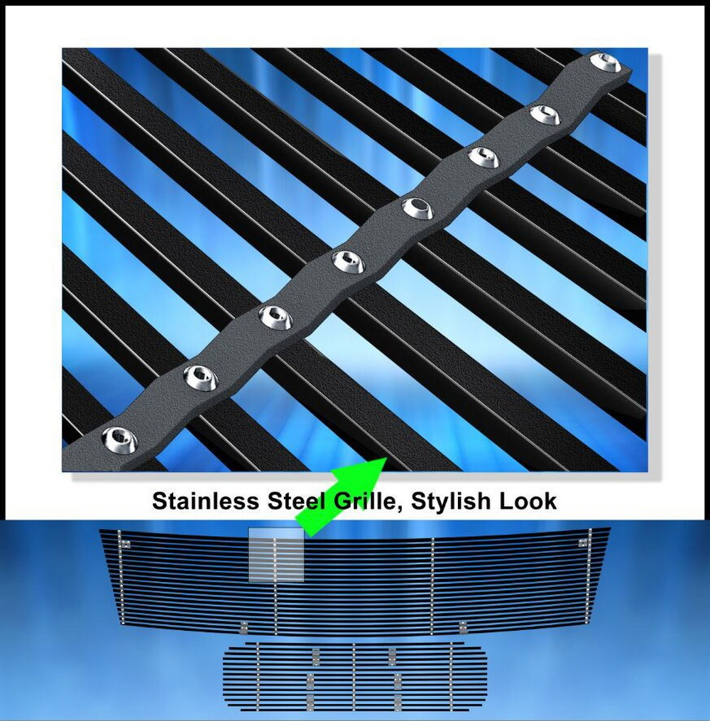 Fits 2004 2008 Chrysler Crossfire Billet Grille Grill: EGrille Fits 2004-2007 Nissan Titan/Armada Black Stainless