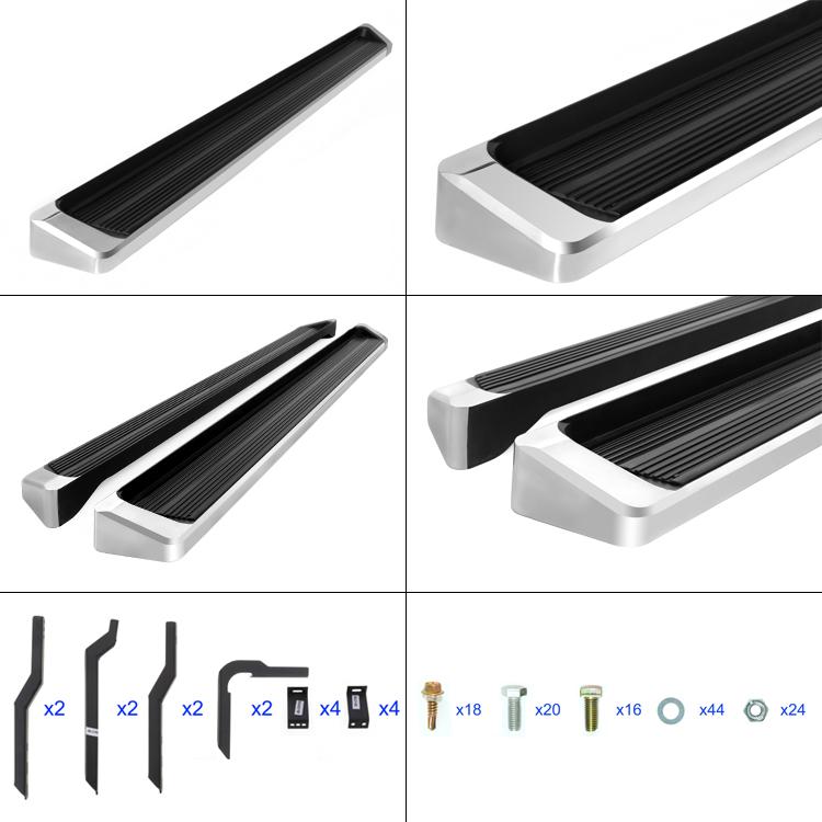 "EBoard Running Boards Aluminum 6"" Fits 2003-2008 Honda"