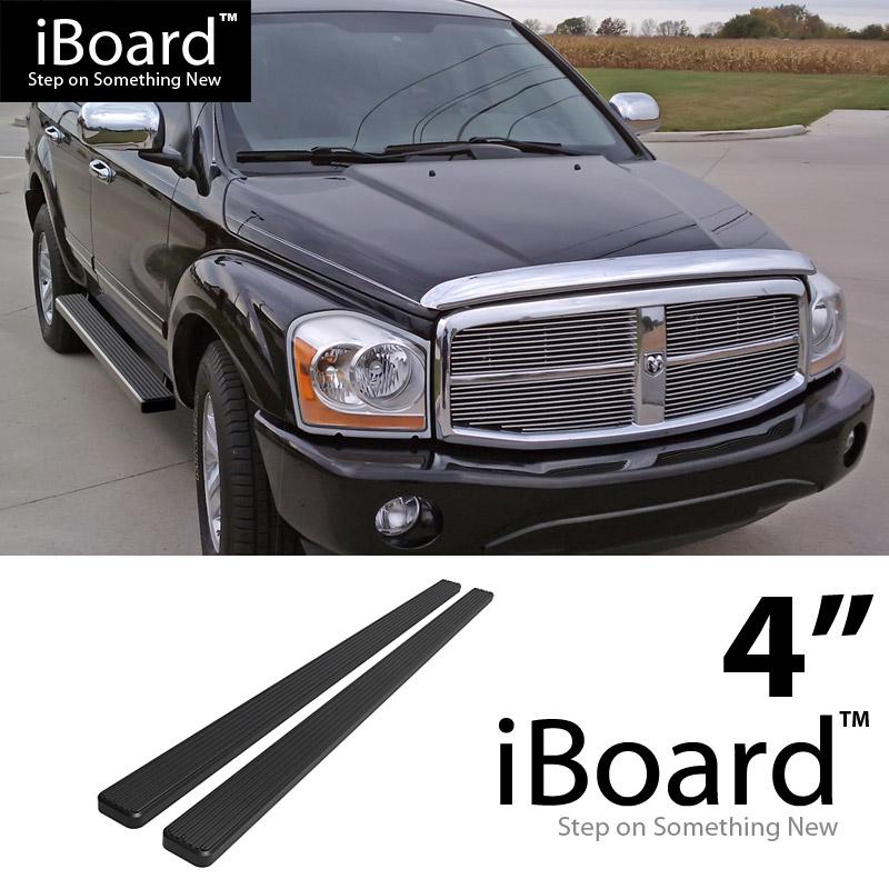 """iBoard Side Steps Nerf Bars 4/""""  Fit 04-10 Dodge Durango"""