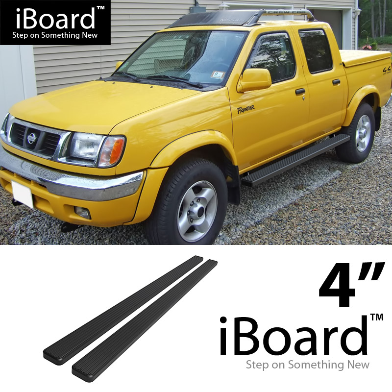 Image Is Loading 4 034 Black EBoard Running Boards For 1999